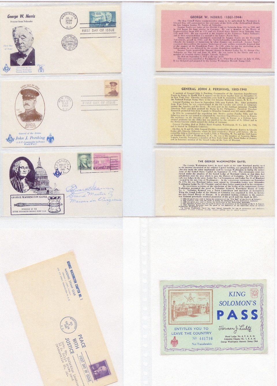 1957 GWMSC Covers